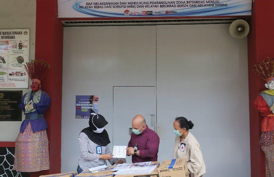 ICRC mendistribusikan perangkat pencegahan COVID-19 ke penjara