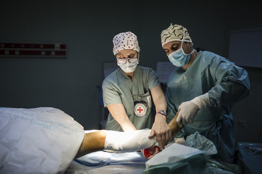 Presiden ICRC dan pemimpin dunia menyerukan untuk menghentikan serangan siber yang mengganggu sistem perawatan kesehatan