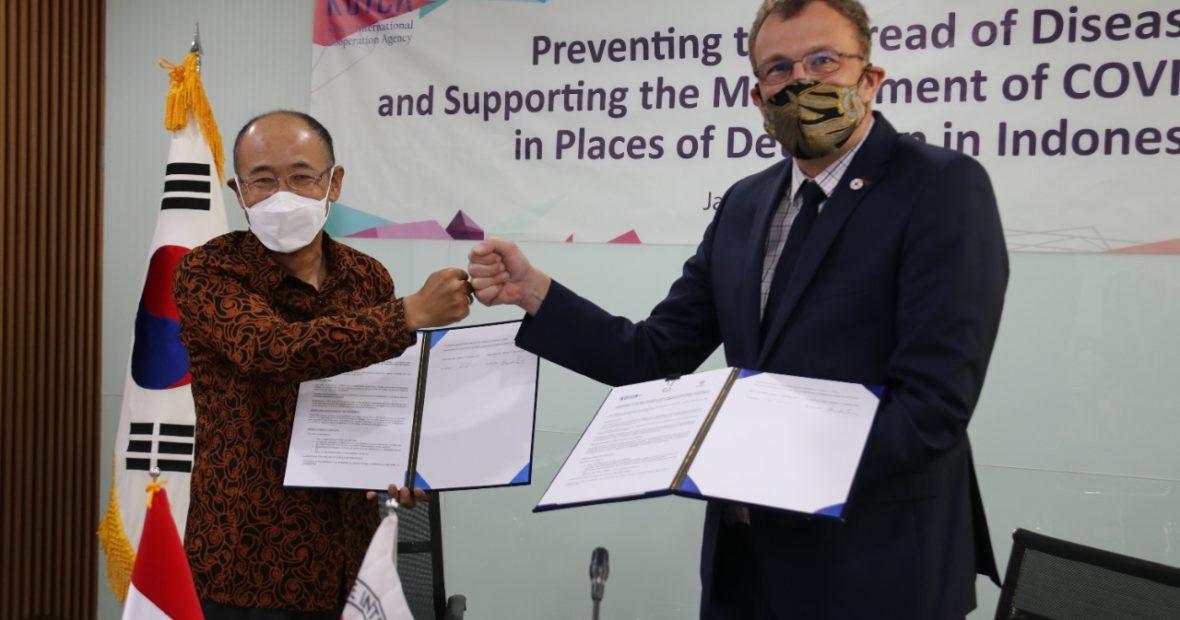 Tanggap COVID-19: KOICA, ICRC sepakat bantu penjara-penjara di Indonesia