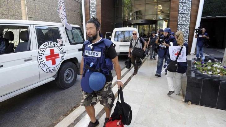 Pelindungan untuk jurnalis dan hotline ICRC – T&J