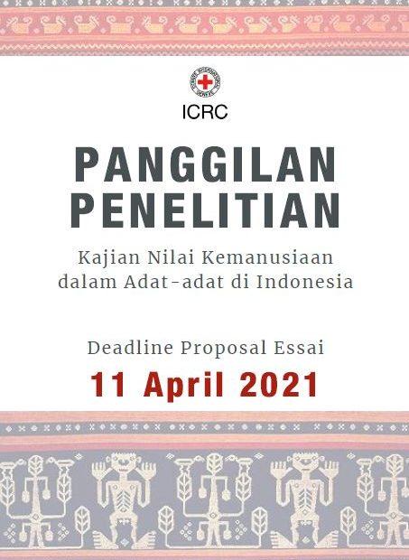Panggilan Penelitian: Kajian Nilai Kemanusiaan dalam Adat-adat di Indonesia