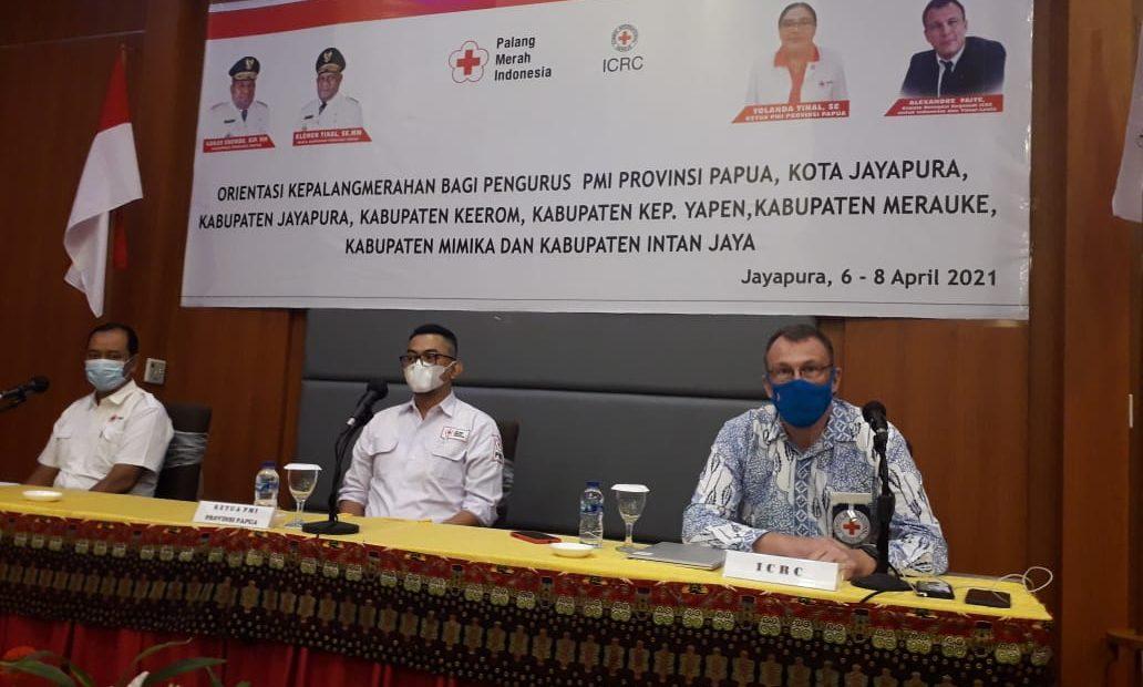 ICRC bekerja sama dengan PMI di Provinsi Papua