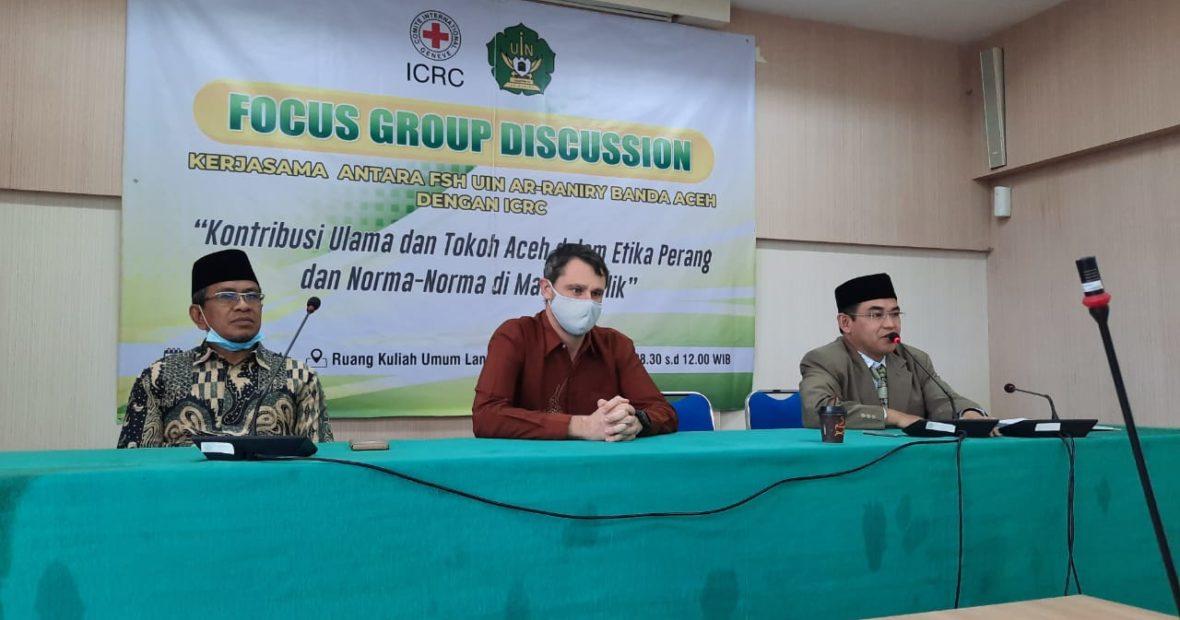 Dari Sanger Menuju Dayah; Kisah Perjalanan ICRC di Aceh