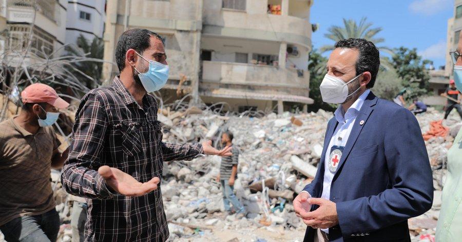 Pernyataan Robert Mardini setelah kunjungi Gaza dan Israel
