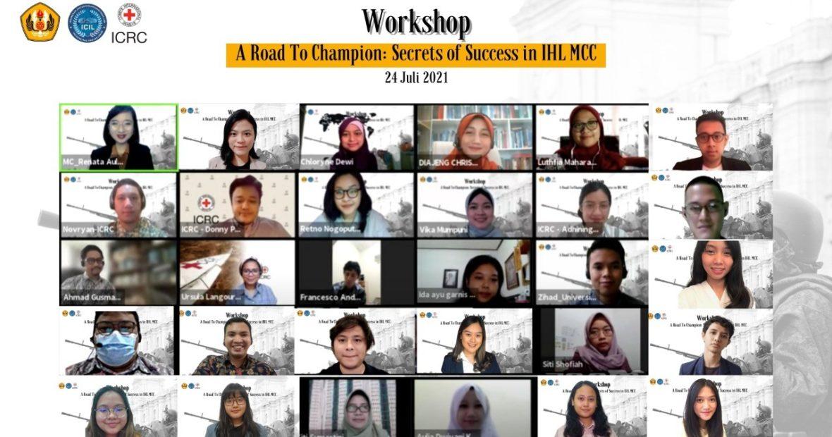 "IHL MCC Workshop 2021 – ""A Road to Champion: Secrets of Success in IHL MCC"""