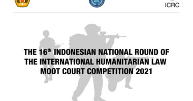 The 16th Indonesian National Round of the International Humanitarian Law Moot Court Competition 2021