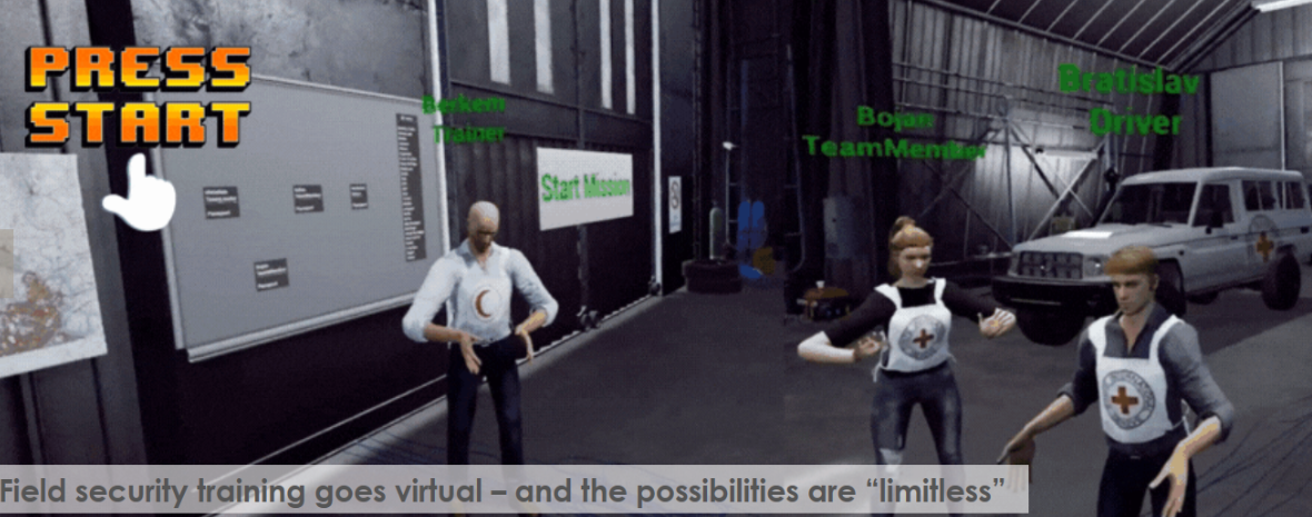 ICRC and Norwegian Red Cross Create Remote Multiplayer VR Security Trainer