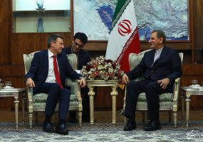 ICRC President visits Iran