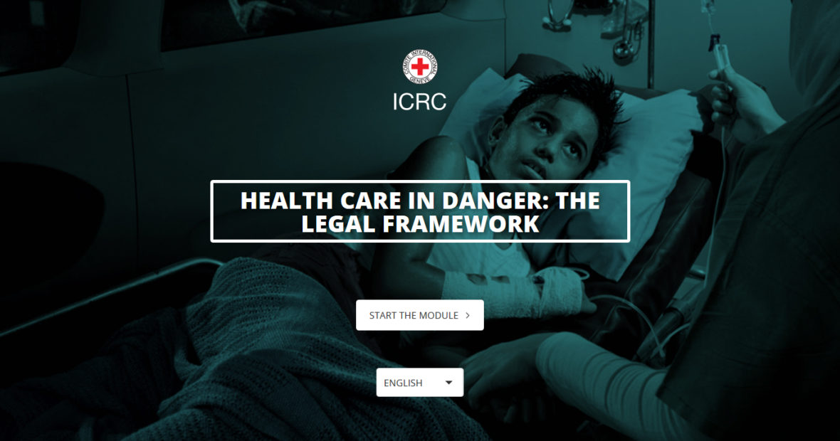 e-Learning: Health care in danger, the legal framework