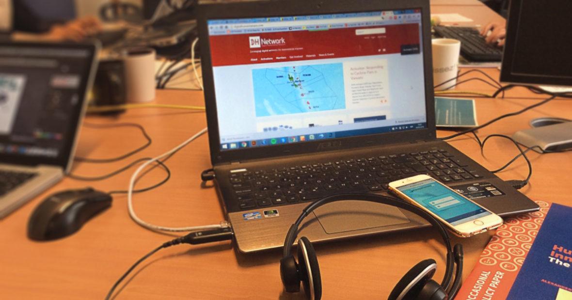 Enabling local communities through Digital Response Networks