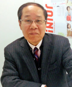 Dr Masao Tomonaga was born in Nagasaki and survived the detonation of the second atomic bomb on 9 August 1945. He is now Chairman of the Nagasaki Global Citizen's Assembly for the Elimination of Nuclear Weapons.