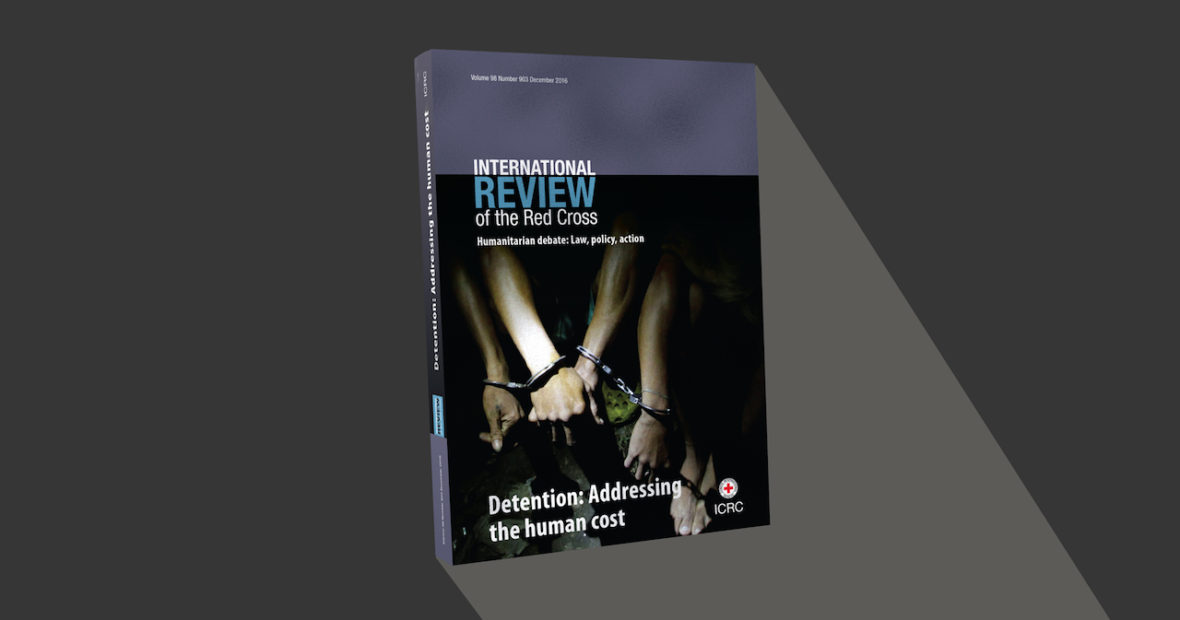 Just out! New Review issue on human cost of detention
