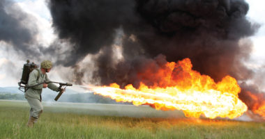 The legality of flamethrowers: Taking unnecessary suffering seriously