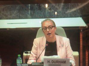 Compliance negotiations Helen Durham