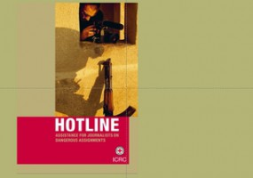 Publication  – HOTLINE: assistance for journalists on dangerous assignments
