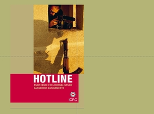 Publication  – HOTLINE: assistance for journalists on dangerous assignments