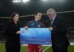 Philipp Lahm and UEFA donate 100,000 euros for physical rehabilitation in Afghanistan
