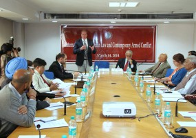 ICRC's South Asia operations head opens IHL talk by ORF