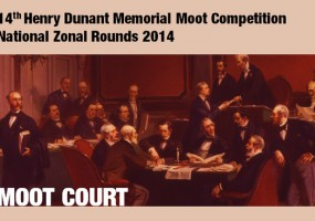 14th Henry Dunant Memorial Moot Competition announced, zonal rounds introduced