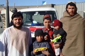 Sali was reunited with his family on 7 February in Lashkar Gah. ©ICRC/E.Ochoa
