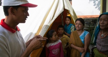 My Red Cross Story: 'I walked and climbed 22km on foot, when everyone told me it was dangerous'
