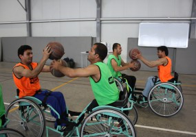 Meet Afghan wheelchair basketball players taking on Briantea84 in Italy