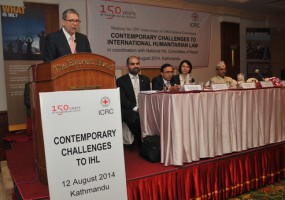 ICRC Kathmandu holds IHL discussion to mark 150th anniversary of First Geneva Convention