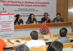Workshop on reporting in emergencies: 'Don't show what is beyond necessary'