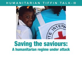 ICRC announces Humanitarian Tiffin Talk III on 'Saving the Saviours'