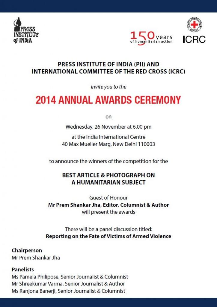 PII ICRC AWARDS 1
