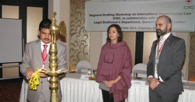 First South Asia Regional Drafting Workshop on IHL held in Colombo