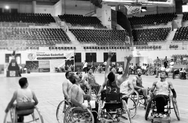 Beyond the game: Photo essay on wheelchair basketball