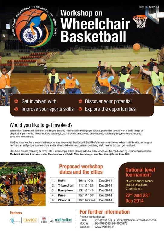 Wheelchair Basketball Brochure