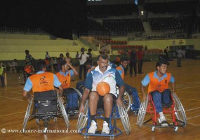 ICRC partners with WBFI for December workshops on wheelchair basketball across India