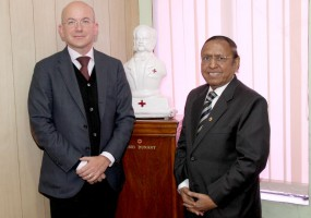 ICRC Director General visits Indian Red Cross