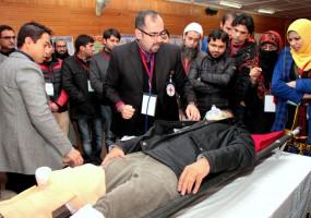 Training in Emergency Room Trauma in J&K gets a boost