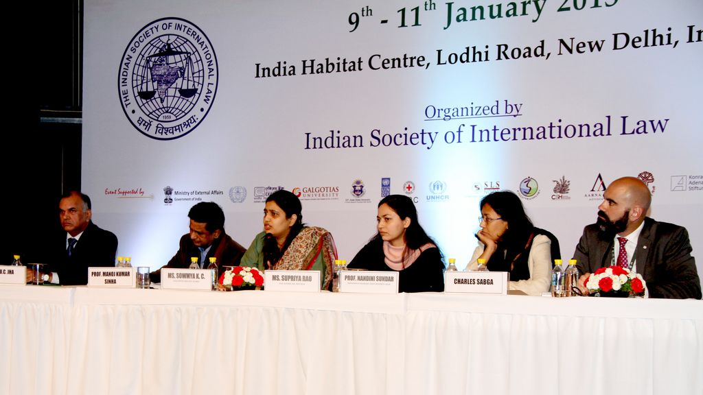 Experts discuss IHL and Protection of Civilian at the World Congress on International law