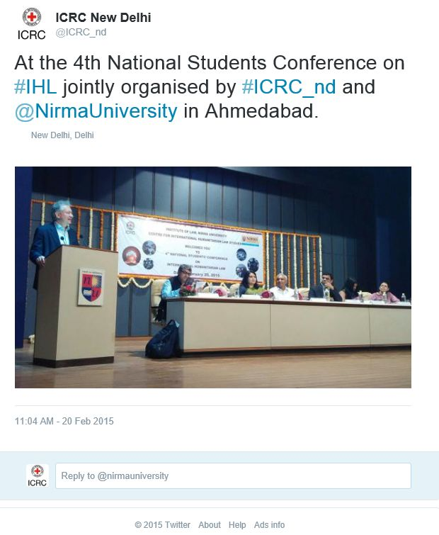 IHL CONF Ahmedabad-TWITTER