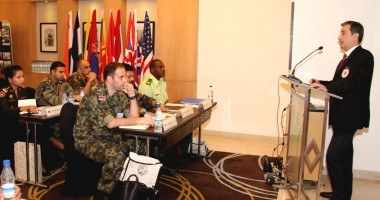 ICRC Sensitises Officers on Humanitarian Law