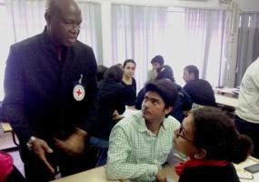 IIMC STUDENTS LEARN ETHICS OF REPORTING ON CONFLICT