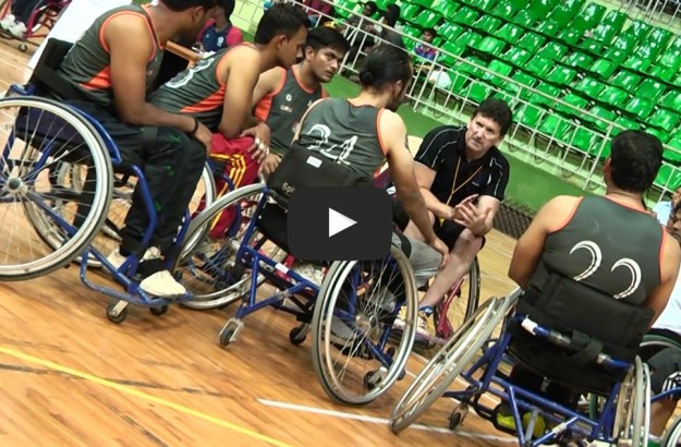 COACH SPINS WHEELS OF HOPE AND CHANGE