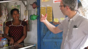 Dominic Stillhart, Director of Operations for the ICRC, on his visit to Sri Lanka.