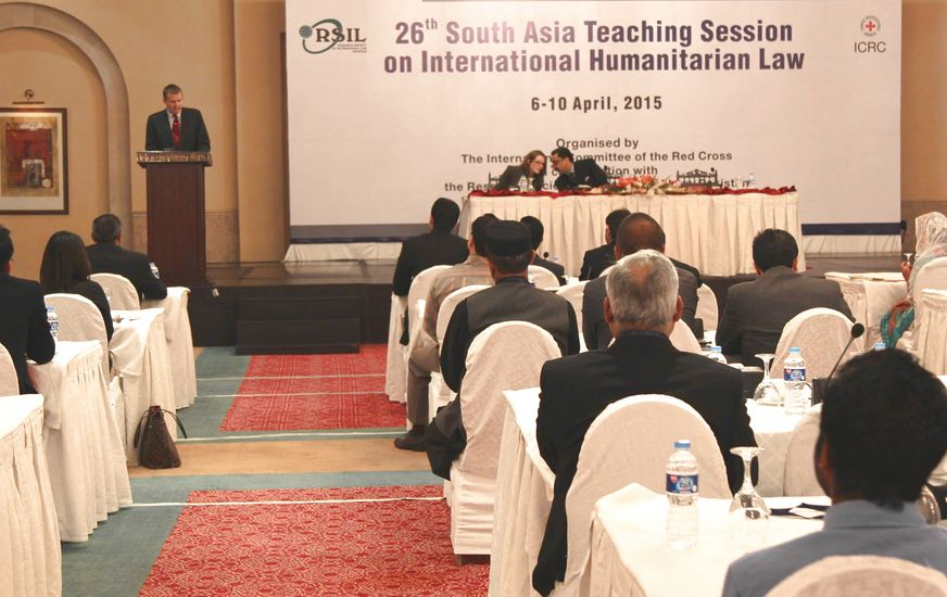 26th South Asia Teaching Session on International Humanitarian Law underway in Islamabad