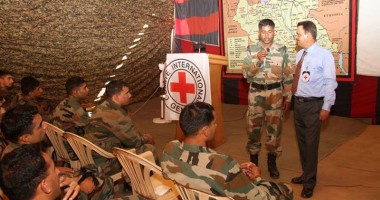 Peacekeepers Day: ICRC's Long-standing Support on IHL Training to India