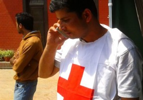 Nepal Red Cross Volunteers at the Heart of Movement's Response