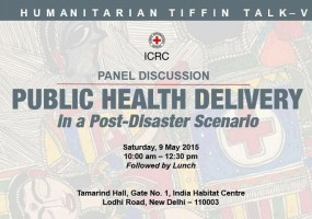 Fifth Humanitarian Tiffin Talk on 'Public Health Delivery in Post-Disaster Scenario'