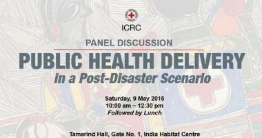 Fifth Humanitarian Tiffin Talk on 'Public Health Delivery in Post-Disaster Scenario'