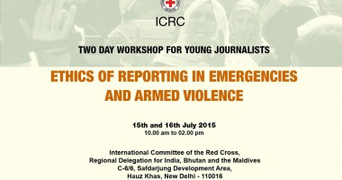 Workshop for Young Journalists on Ethics of Reporting in Emergencies