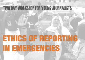 Young Journalists to Hone their Emergency Reporting Skills at ICRC Workshop