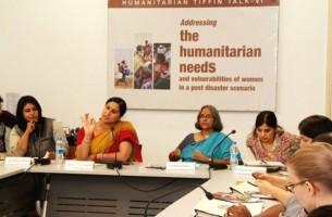 Snapshots: Addressing Women's Vulnerabilities in Post Disaster Situations